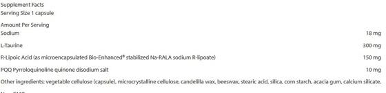 Mitochondrial Basics With PQQ 30 caps