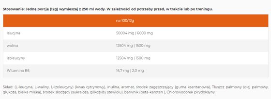 100 % BCAA Powder 4:1:1 550g