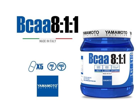 BCAA 8:1:1 500 caps