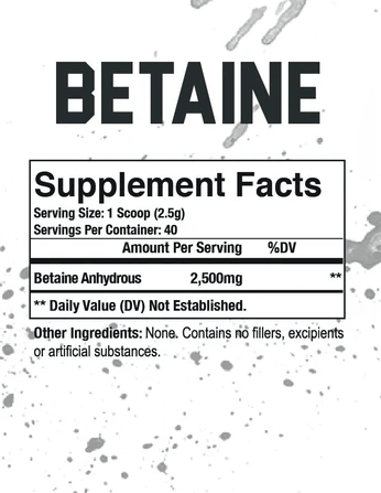 Betaine 100g