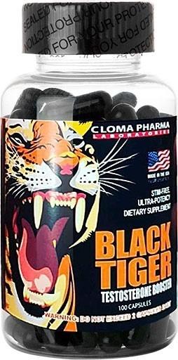 Black Tiger 100 caps