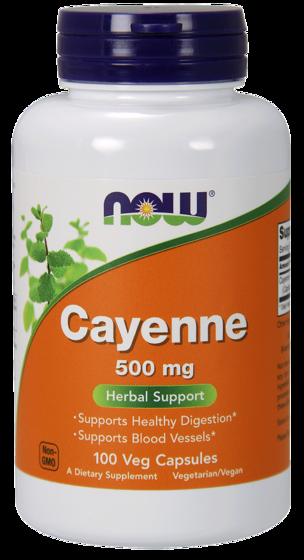Cayenne 500mg 100 caps