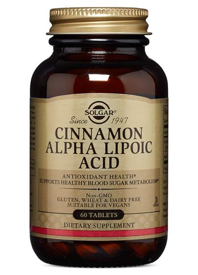 Cinnamon Alpha Lipoic Acid 60 caps
