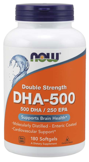 DHA-500 Double Strength 180 caps