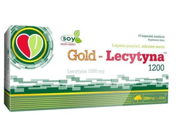 Gold Lecytyna 1200 60 caps