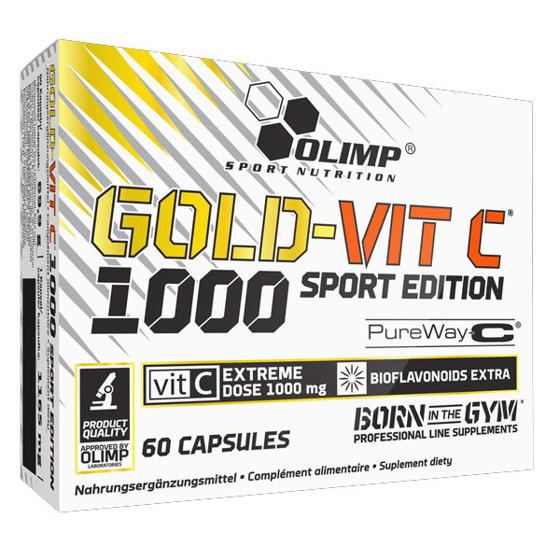 Gold Vit C 1000 Sport Edition 60 kaps