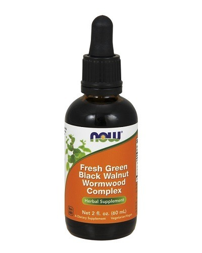 Green Black Walnut Wormwood complex 60 ml