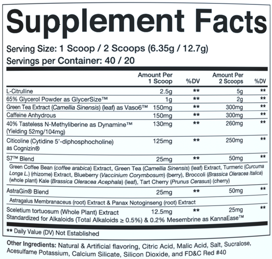 Levels Pre-Workout 255g