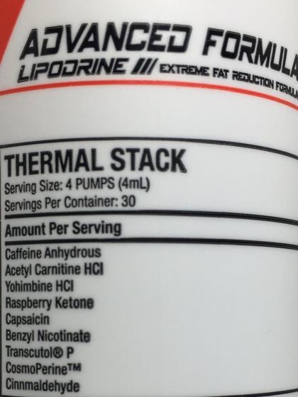 Lipodrine Extreme Fat Reduction Formula gel 120 g