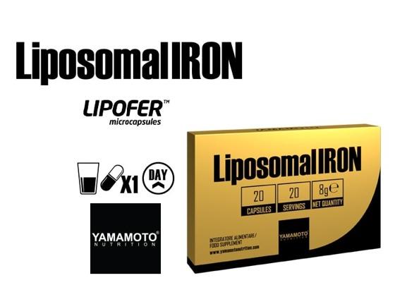 Liposomal Iron 20 caps