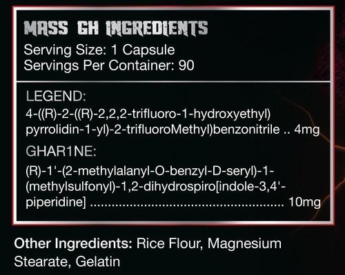 Mass Gh 90 caps