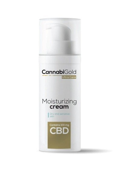 Moisturizing cream - Dry and sensitive cream 50 ml