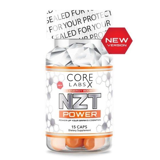 NZT Power Energy Boost 15 caps