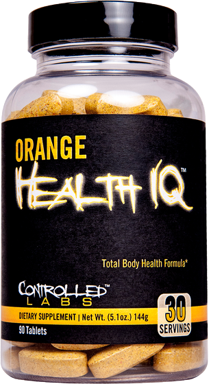Orange Health IQ 90 caps