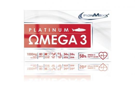 Platinum Omega 3 1000mg 60 caps