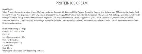 Protein Ice 300g