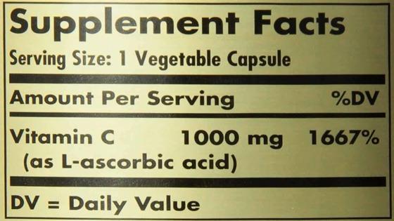 Vitamin C 1000 mg 90 caps