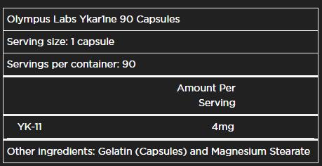 Ykar1ne 90 caps