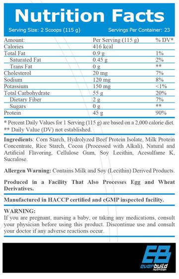 Beef Gainer 2720 g