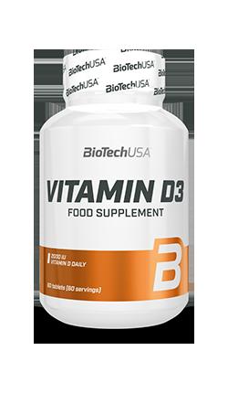 BioTechUSA Vitamin D3 60 caps