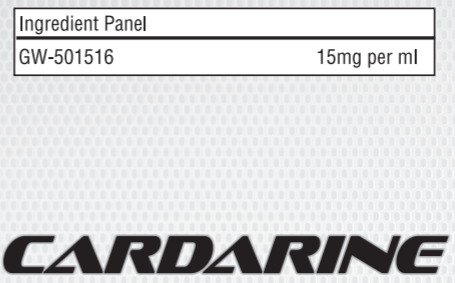 Cardarine GW-501516 60 ml