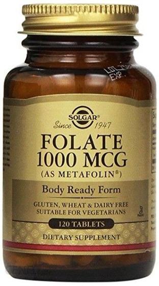 Folate 1000 MCG 120 caps