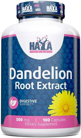Haya Dandelion Root Extract 500mg 100 caps