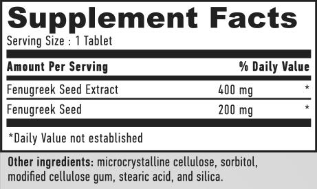 Haya Fenugreek 600 mg 120 caps