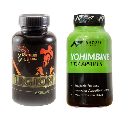 Legion 1.3 + Yohimbine hcl 100caps - Zestaw