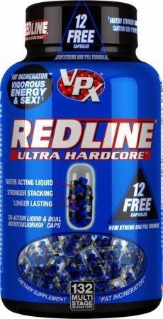 Redline Ultra Hardcore 132 caps - LEGENDARNA WERSJA USA