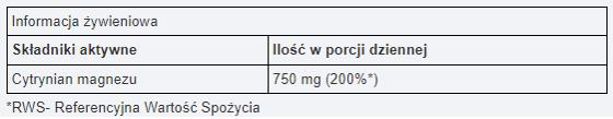 UNS MAGNESIUM CITRATE 200 g