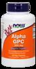 NowFoods Alpha Gpc 60 caps